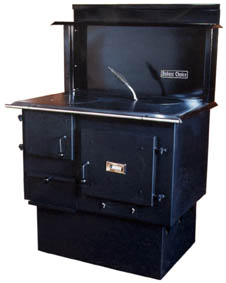 Bakers Choice, Baker's Choice wood cook stove