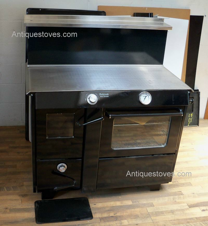 Wood Cook Stoves Kitchen Queen Ashland Bakers Oven Wood