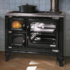 Deva Wood Cook Stove, Cast Iron Wood Cook Stove