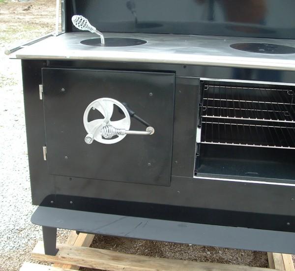 Kitchen Queen,firebox door - Airtight Firebox