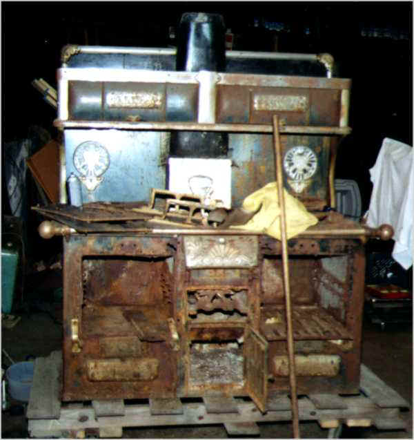 Antique Universal Gas Cook Stove - Antiques, Art and Collectibles